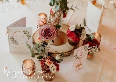 Lich Landhaus Klosterwald DEKO LINE Gestaltungskonzepte fuer Hochzeiten Events Meike Flo