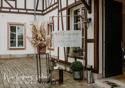 Waechtersbach Weiherhof Zelthochzeit DEKO LINE Gestaltungskonzepte fuer Hochzeiten Events